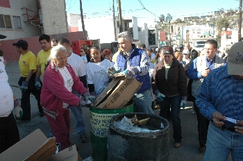 Jorge Ramos convocó a la comunidad a limpiar Tijuana
